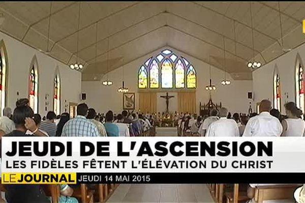 Jeudi de l'Ascension : les fidèles au rendez-vous