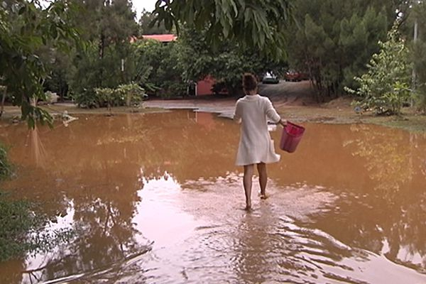 Les riverains de la Tontouta ont souffert de la crue.