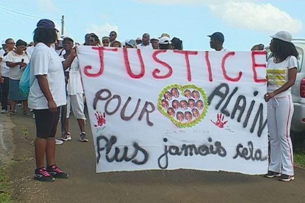 Marche de prière en hommage à Alain Célini