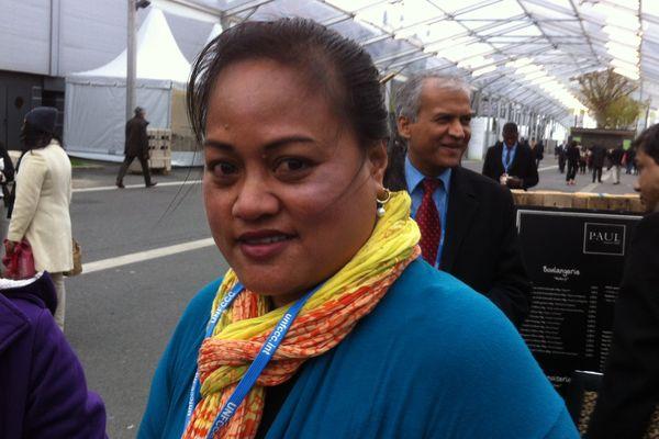 Maria Tiimon Chi-Fang, la voix des Kiribati en Australie à la COP21