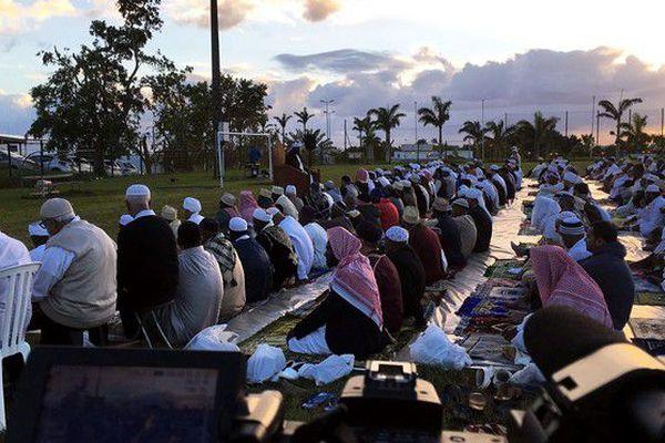 Fin Ramadan Aîd el Fitr prière Saint Benoit 16 06 18