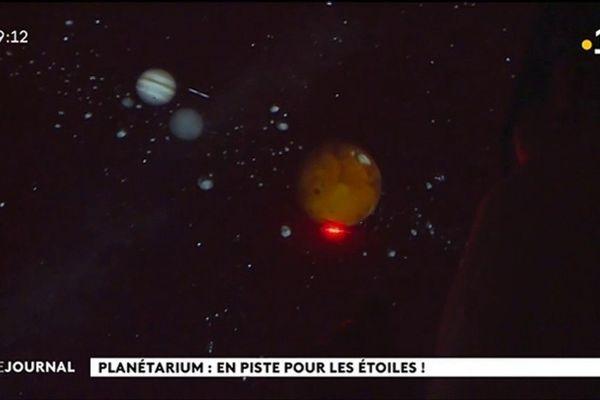 Les astres se dévoilent au planétarium de la Maison de la Culture