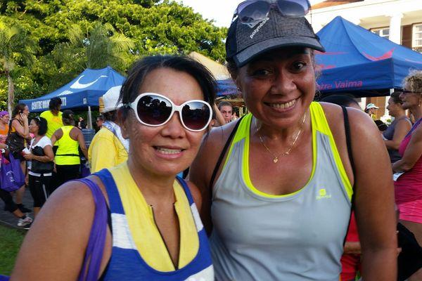 Course la Tahitienne 2015 - Coureuses Polynésie 1ère 2