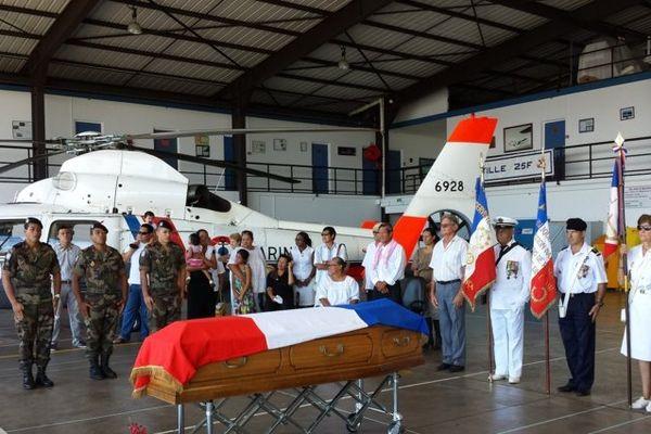 Le corps de Heiarii Moana rapatrié à Tahiti
