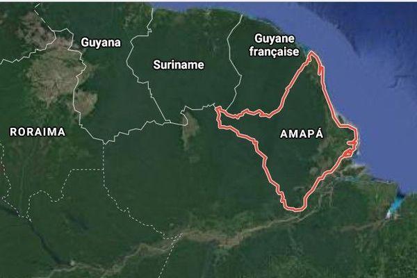 Amapa état voisin de la Guyane