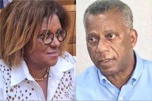Deux élus territoriaux de la minorité à l'Assemblée de Martinique : Catherine Conconne, sénatrice & Francis Carole, ex conseiller exécutif de la CTM.