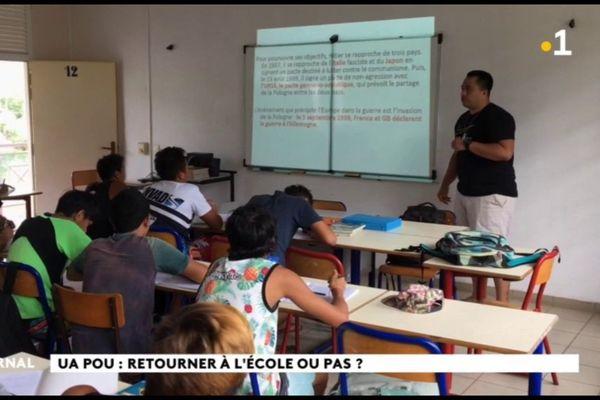 A Ua Pou, les parents d'élèves veulent rester confinés