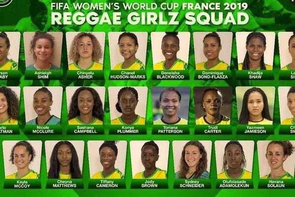 Jamaique Equipe Reggae Girlz
