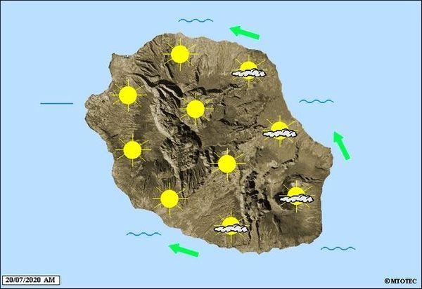 Carte météo 20 07 2020