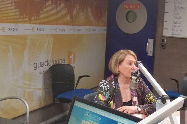 Colette Koury, présidente de la CCI des îles de Guadeloupe, invitée de Politique Première