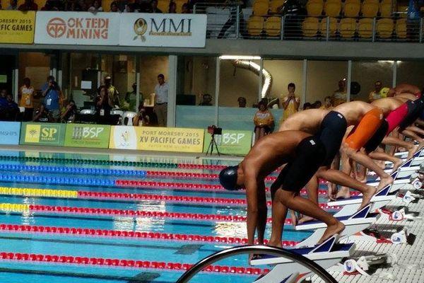 Epreuves de natation - PNG 2015