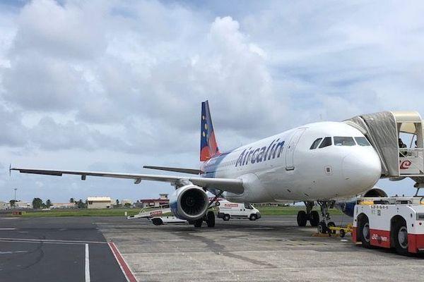 avion d'Air Calin à Tahiti