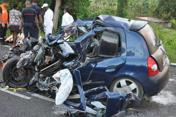 accidents sur les routes de Guadeloupe