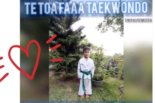 Covid-19 et confinement | La touchante vidéo des enfants du club de taekwondo deTe Toa Faaa