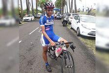 Keyliane Julus (cadette) 9e du tour de Guadeloupe