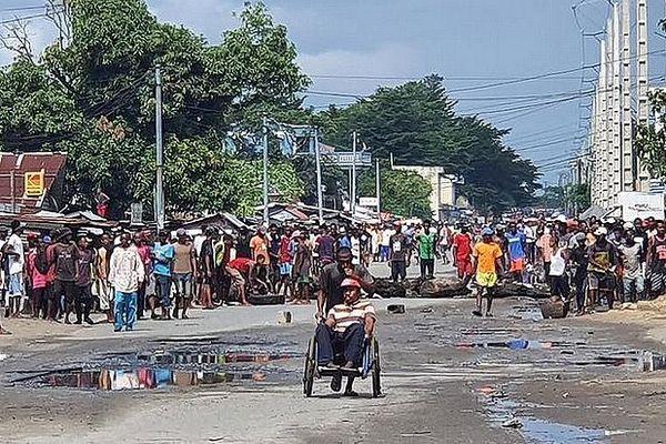 Manifestation à Tamatave