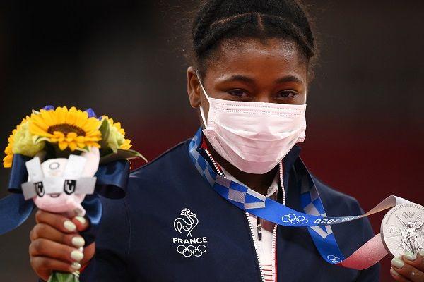 Sarah-Léonie Cysique, médaille d'argent aux JO de Tokyo