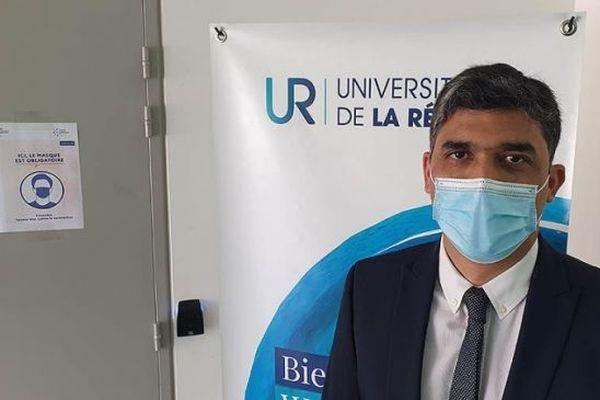 Frédéric Miranville réélu à la président de l'Université