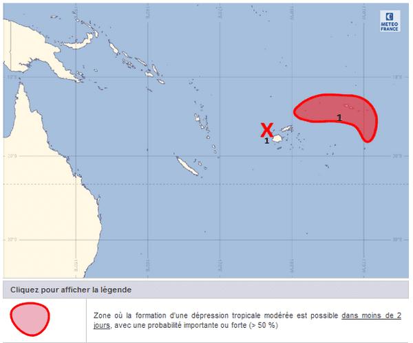carte situation météo du 8 février 2018