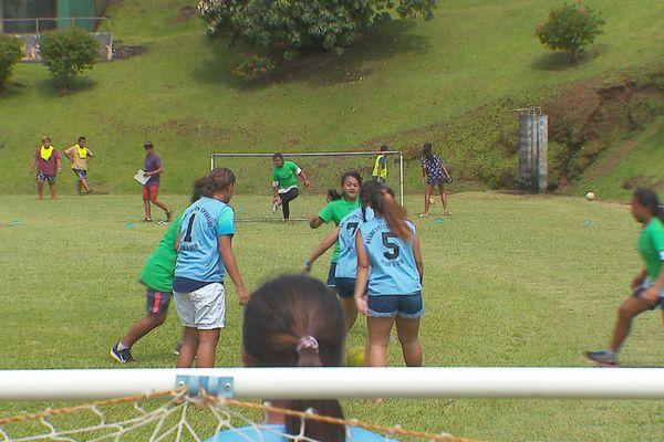 Sport scolaire football Presqu'île