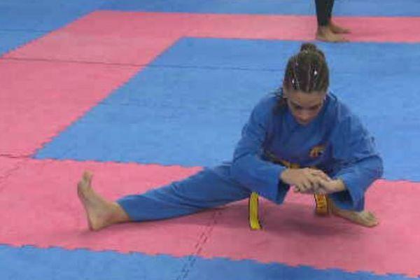 Sarah-lysa Hubert s'entraîne 6 jours sur 7 à raison de 2 heures par jour en moyenne