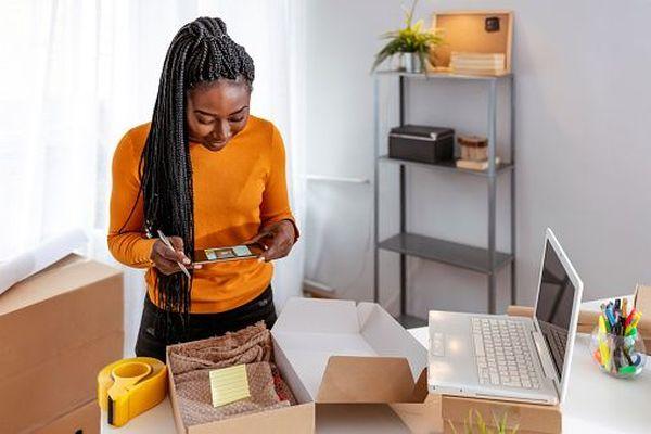 Réception d'achats en ligne / internet