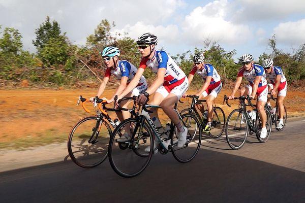 Equipe de France militaire de cyclisme en Guyane