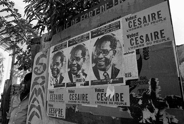 Aimé Césaire, 1945, FDF