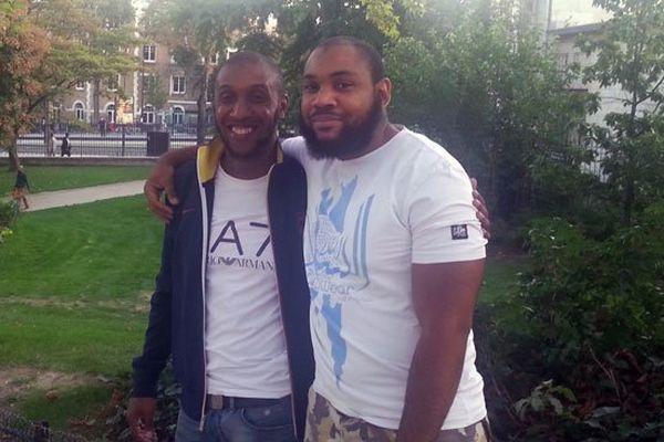 Imrane et Gary, membres de l'association musulmane antillaise