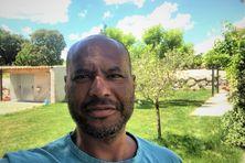 Autoportrait de l'ex-volleyeur martiniquais Laurent Chambertin.