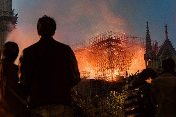 Notre-Dame de Paris ravagée par un incendie, lundi 15 avril.