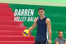 Les espoirs du sport calédonien : Darren passionné de volley