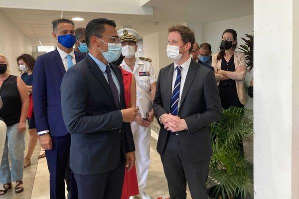 visite secrétaire d'Etat aux affaires européennes Clément Beaune au Port 110921