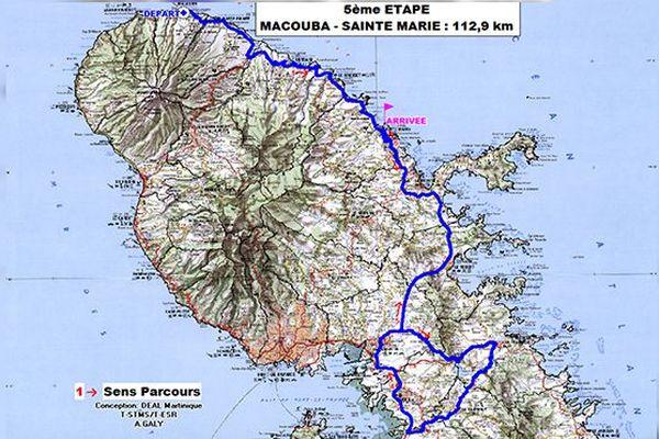 Etape 5 : Macouba - Sainte-Marie