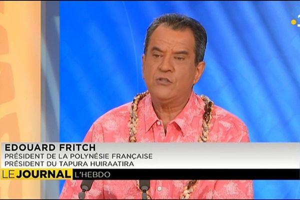 Invité de l'hebdo : Edouard Fritch