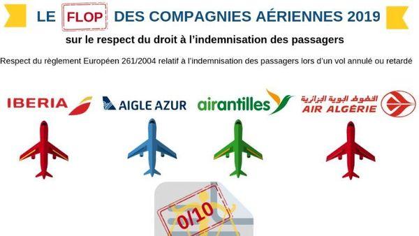 flop compagnies aériennes vers outre mer