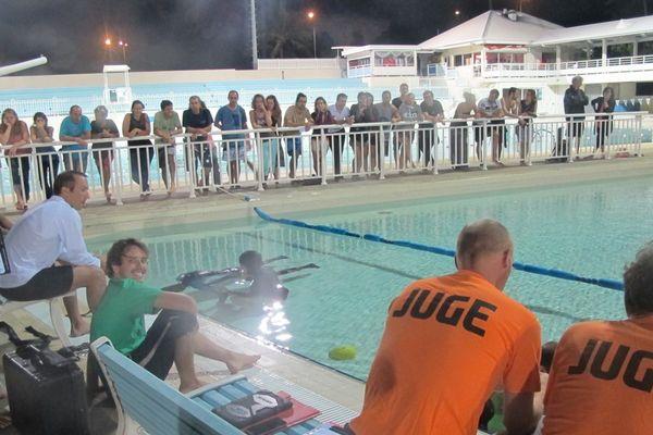 Championnat d'Apnée piscine Ouen Toro