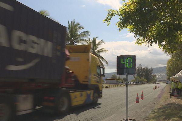 Opération sensibilisation vitesse au Port