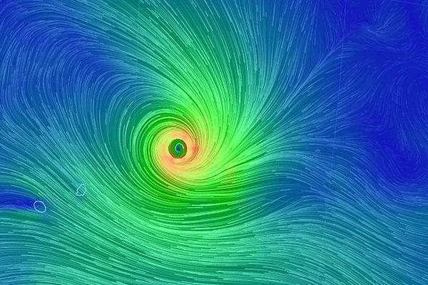 Cyclone à proximité de Rodrigues