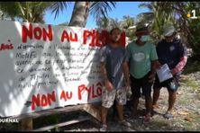 Les habitants de Tiputa ne veulent pas d'antenne relais dans leur voisinage