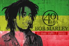 40è anniversaire de la mort de Bob Marley