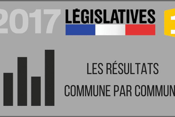 résulats législatives commune par commune