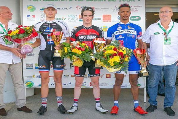 Tour cycliste de Guadeloupe : podium 2-1