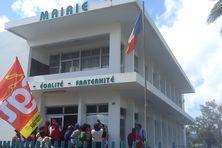 Entrée de la mairie du Vauclin (llustration)