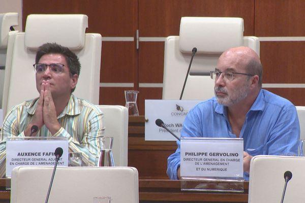 Commission plénière du Congrès sur l'OPT, Auxence Fafin et Philippe Gervolino, 14 janvier 2020