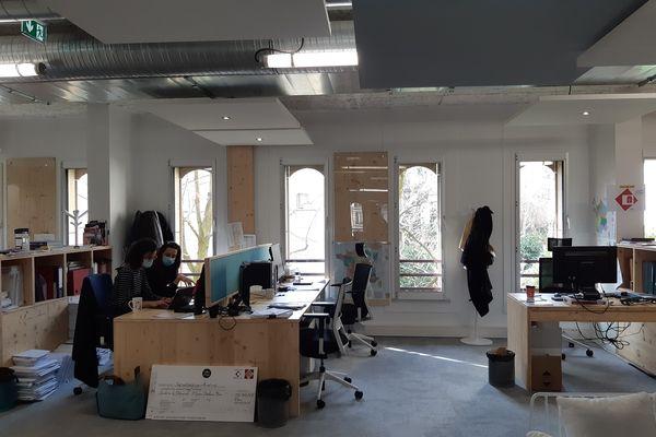 Les bureaux de la Fondation du Patrimoine