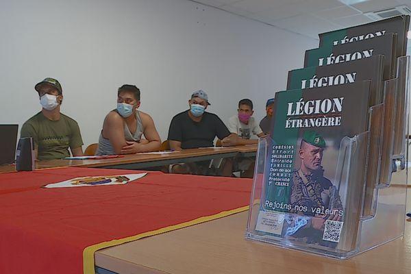 Légion étrangère recrutement