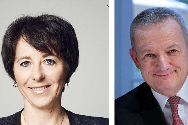 Christel Bories et Patrick Buffet