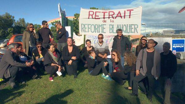 Bac greve enseignants Boisjoly Potier