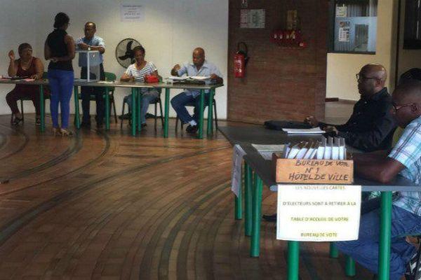 Elections législatives à Rémire-Montjoly en Guyane.